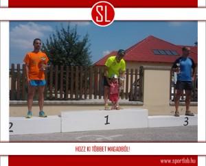 Klopfer Csaba a Szufla Futófesztivál 21 km-es távjának győztese
