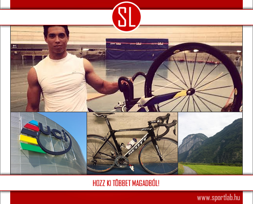 Szalontay Sándor felkészülése az UCI-ban
